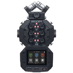 Zoom H8 Handy Recorder For Podcasting, Multi-track & Field Recording