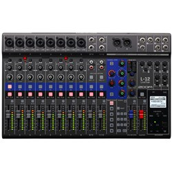 Zoom LiveTrak L12 Digital Mixer & Recorder