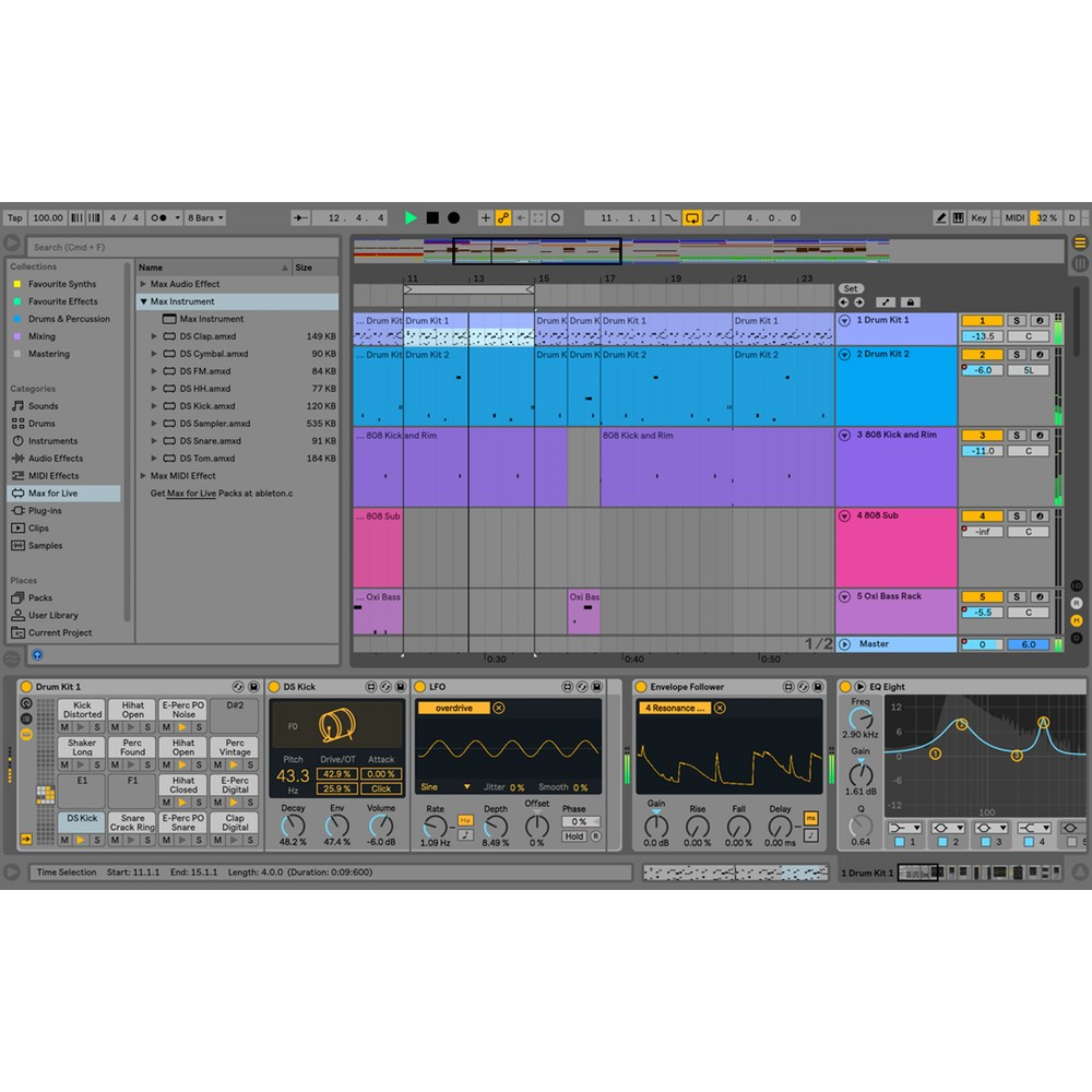 Ableton Live 10 Suite Music Production Software Upgrade from Live Intro