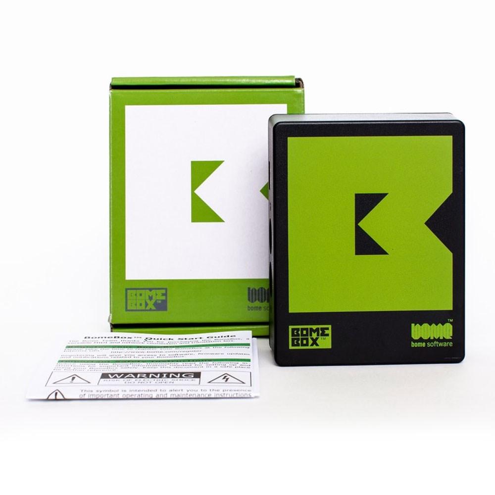 Bome Software BomeBox MIDI Hub w/ MIDI, Ethernet, WiFi & USB