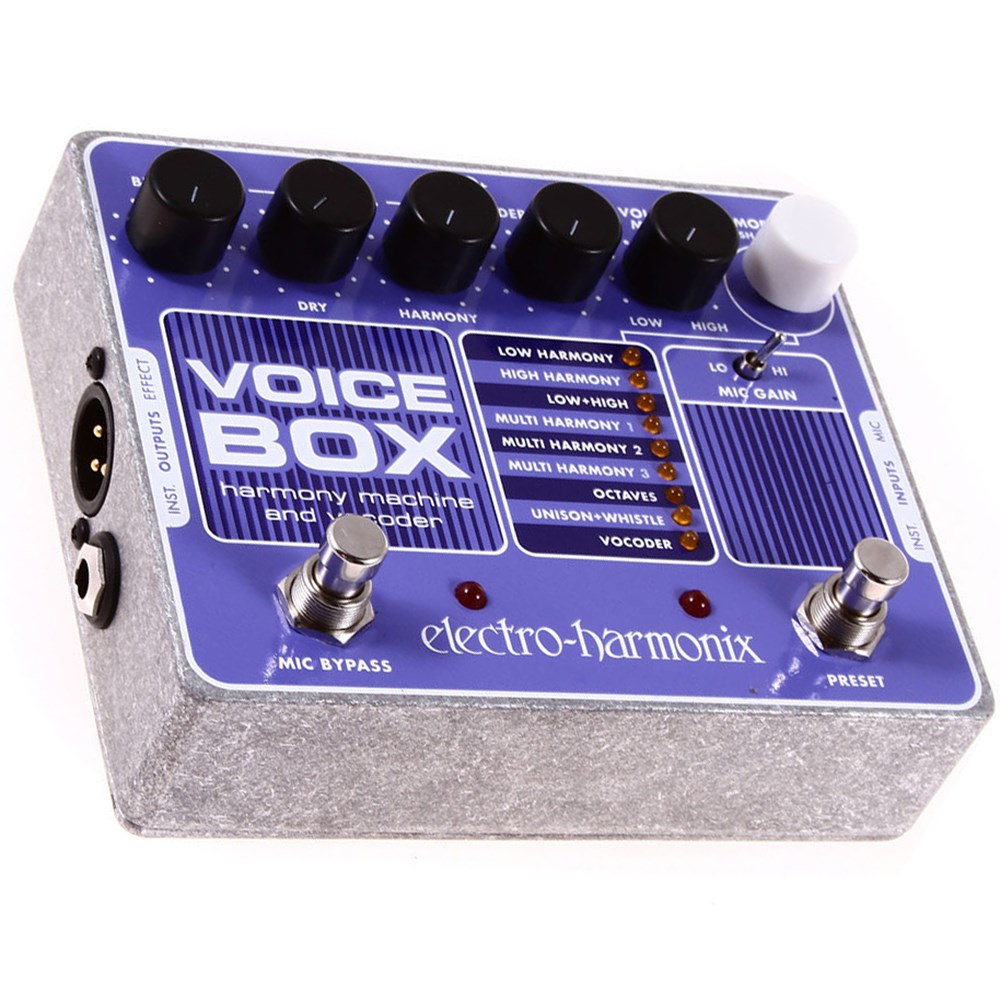 Electro Harmonix Voice Box Vocal Harmony Machine / Vocoder Pedal