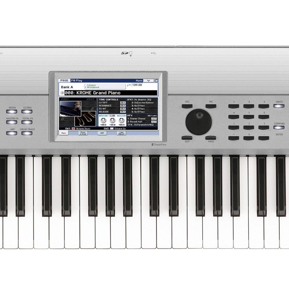 Korg Krome 73-Key Synthesizer Workstation (Limited Edition Platinum)