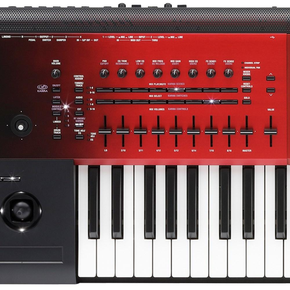 Korg Kronos 61-Key Music Workstation Special Edition (Red Sunburst)