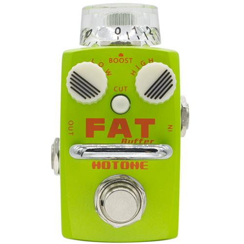 Hotone Skyline Fat Buffer Compact Buffer/Preamp Pedal w/ Cut Button & True Bypass