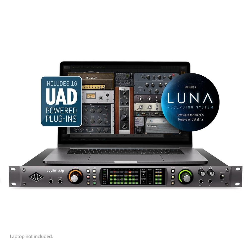 Universal Audio Apollo X8P Thunderbolt 3 Audio Interface w/ HEXA Core &  UAD2 Processing