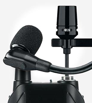 Lapel Headset Microphones