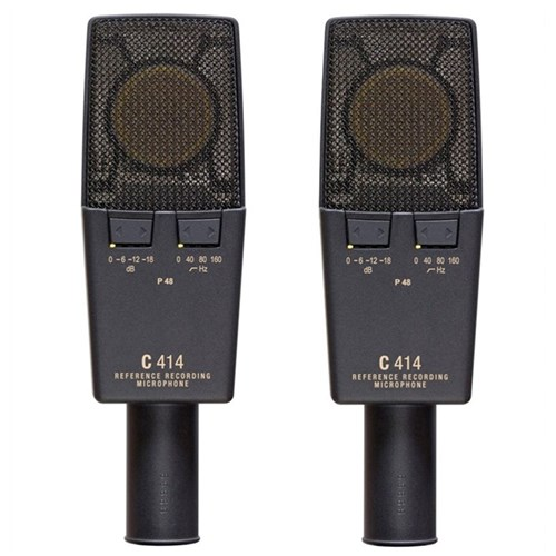 AKG C414XLSST Stereo Matched Pair Of Condenser Mics