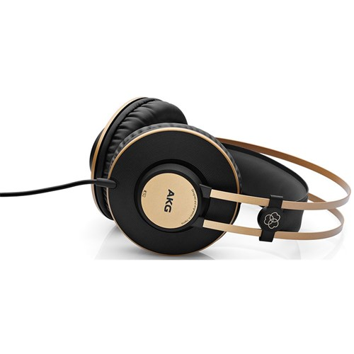 AKG K92 Closed-Back Headphones for Live Sound Monitoring & Recording Studios