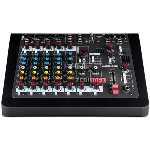 Allen & Heath ZEDi10FX Hybrid Compact Mixer w/ 4x4 USB Interface & FX