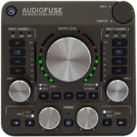 Arturia AudioFuse Next Generation Audio Interface (Space Grey)