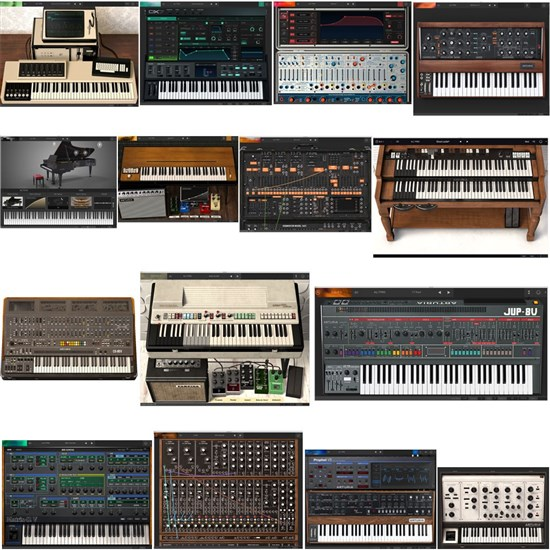 ART-VCOLLECT7 - Arturia V Collection 7 Soft-Synth Bundle