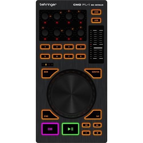 Behringer CMD PL-1 Deck-Based DJ Controller   DJ Controllers - Mannys