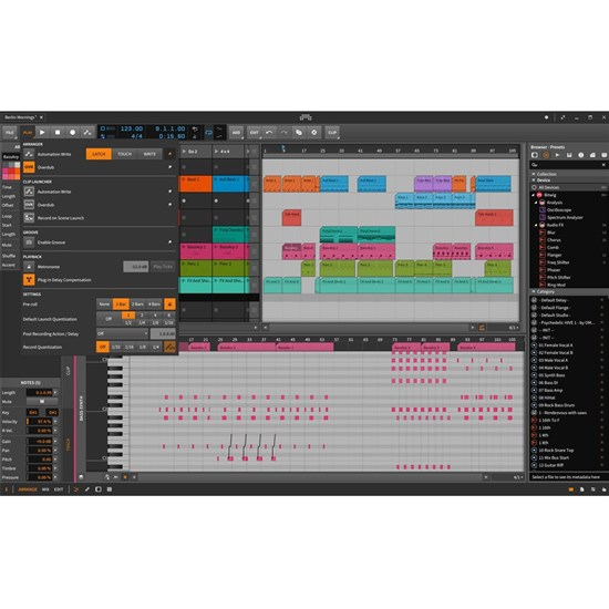 Bitwig Studio 2 Production & Performance Software