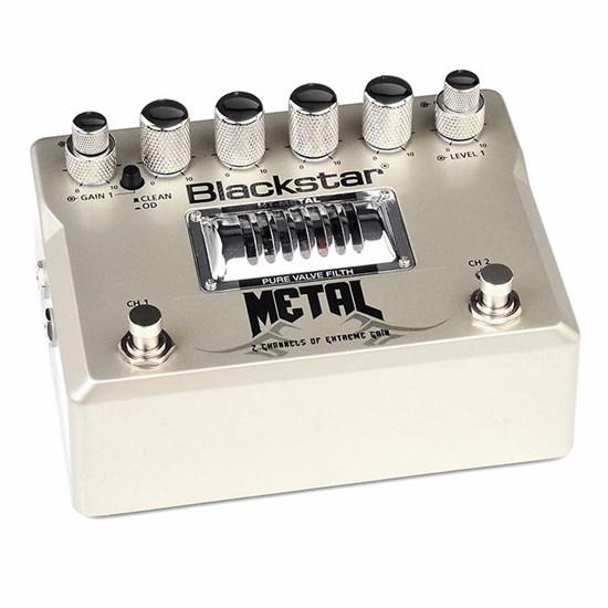 blackstar ht metal metal 2channel high gain distortion pedal distortion overdrive mannys. Black Bedroom Furniture Sets. Home Design Ideas