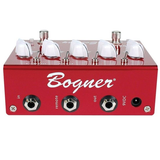Bogner Ecstasy Red Overdrive Pedal w/ Boost
