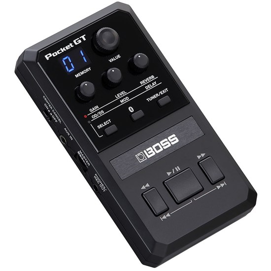 Boss Pocket GT Pocket Effects Processor w/ Integrated YouTube Features