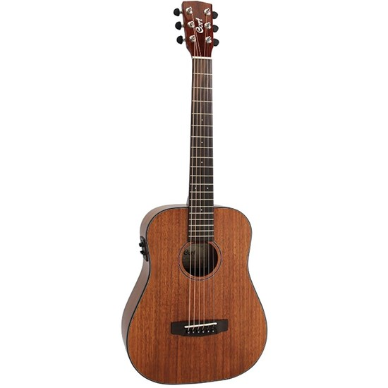 Cort Earth Mini F ABW All Blackwood 3/4 Size Acoustic w/ Pickup (Open Pore) inc Gig Bag