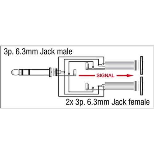 dap audio xga-20 xcaliber series dual 1/4