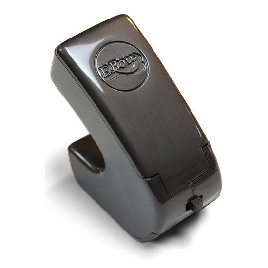 bundled with a clip-on guitar tuner Ebow Plus Hand Held Sustainer effect pedal