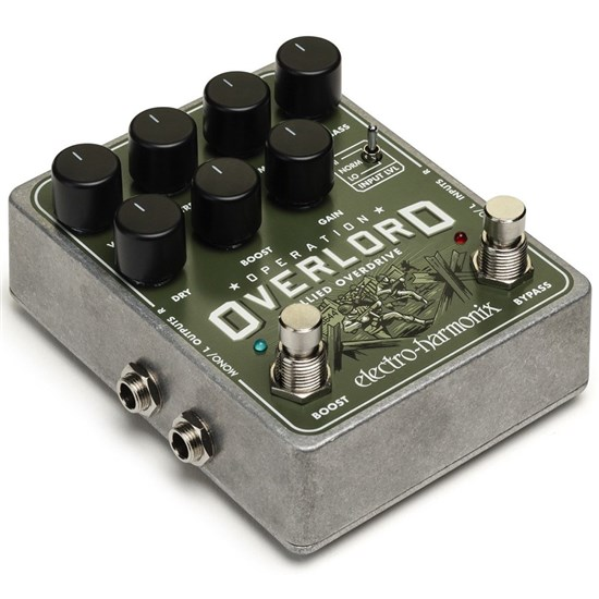 Electro Harmonix Operation Overlord Allied Overdrive Pedal