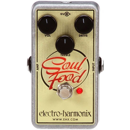 ehx soulfood electro harmonix soul food distortion fuzz overdrive pedal mannys. Black Bedroom Furniture Sets. Home Design Ideas