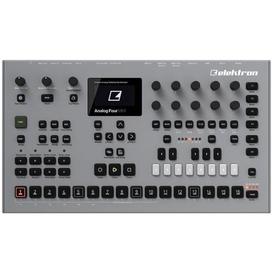 ele analogfour2 elektron analog four mkii 4 voice analog synth mannys. Black Bedroom Furniture Sets. Home Design Ideas