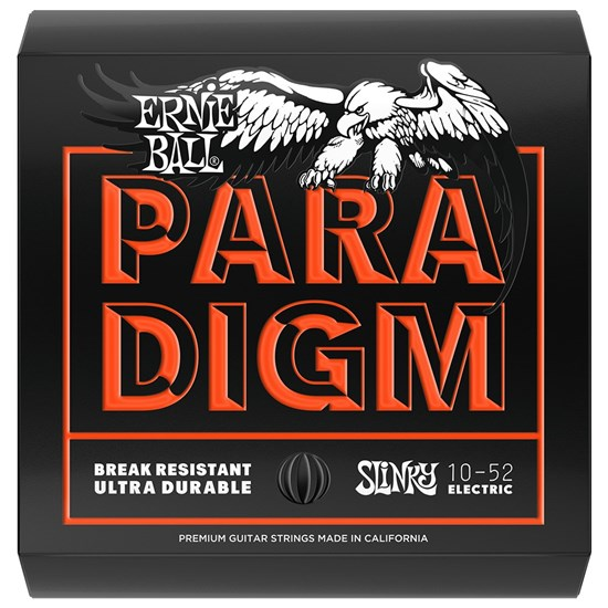 Ernie Ball Paradigm Skinny Top Heavy Bottom Slinky Electric Strings - (10-52)