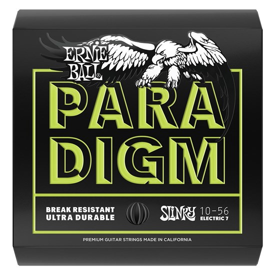 Ernie Ball 2028 10-56 7 String Paradigm Regular Slinky Electric Guitar Strings
