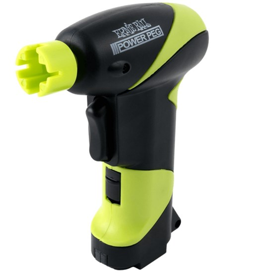 Ernie Ball Powerpeg Battery Powered Peg Winder Green//Black