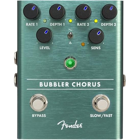 fen 0234540000 fender bubbler analog chorus vibrato effects pedal mannys. Black Bedroom Furniture Sets. Home Design Ideas