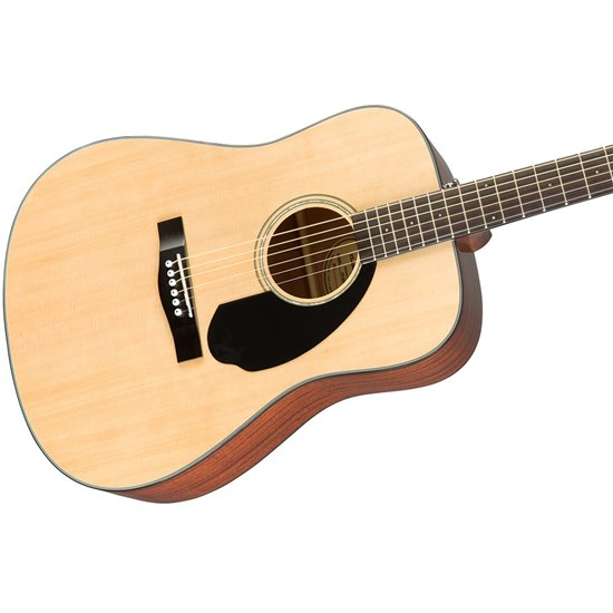 Fender CD-60S Dreadnought Acoustic Guitar Pack V2 (Natural) inc Gig Bag & Strap