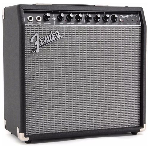 Fender Champion 40 1x12 40W Guitar Amplifier Combo
