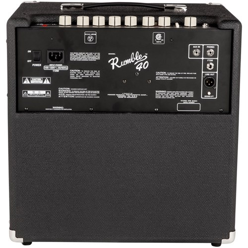 Fender Rumble 40 V3 Bass Amplifier Combo 40W 1x10