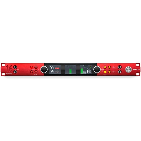 Focusrite Red 16Line 64x64 All-In-One Pro Tools HD & Dual Thunderbolt 3 Audio Interface