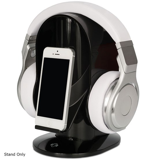 HeadsUp Base Stand High-Gloss Headphone Stand (Black)