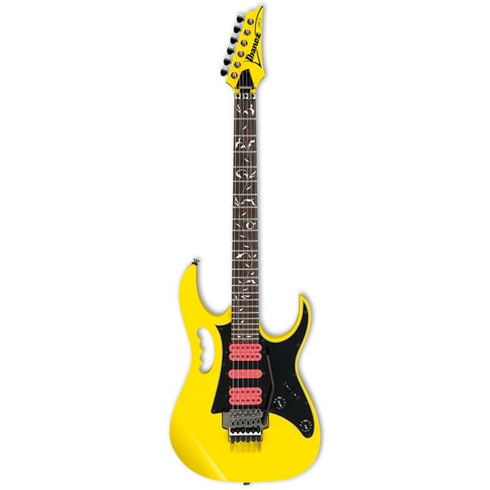 Ibanez JEMJRSP Premium Steve Vai Signature Electric Guitar (Yellow)