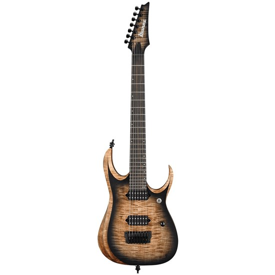 Ibanez RGD71AL ANB Axion label 7-String Electric Guitar (Antique Brown Stained Burst)