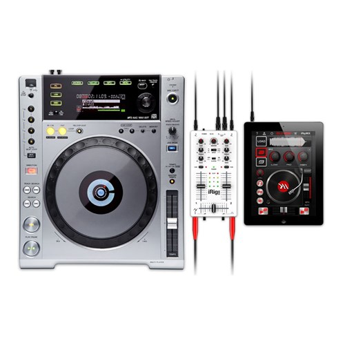 IK Multimedia iRig MIX iPhone, iPad & iPod Touch DJ Mixer