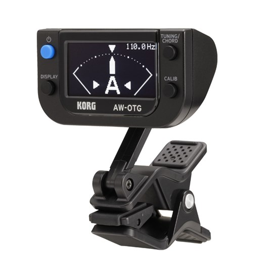 Korg AWOTG Clip-On Tuner for Guitar w/ OLED Display Technology