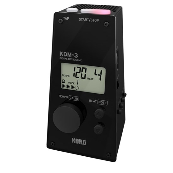Korg KDM3 Digital Metronome (Black)