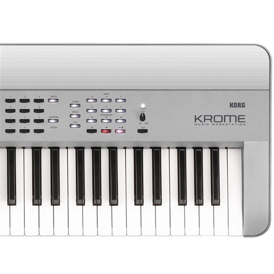 KOR-KROME73PT - Korg Krome 73-Key Synthesizer Workstation (Limited