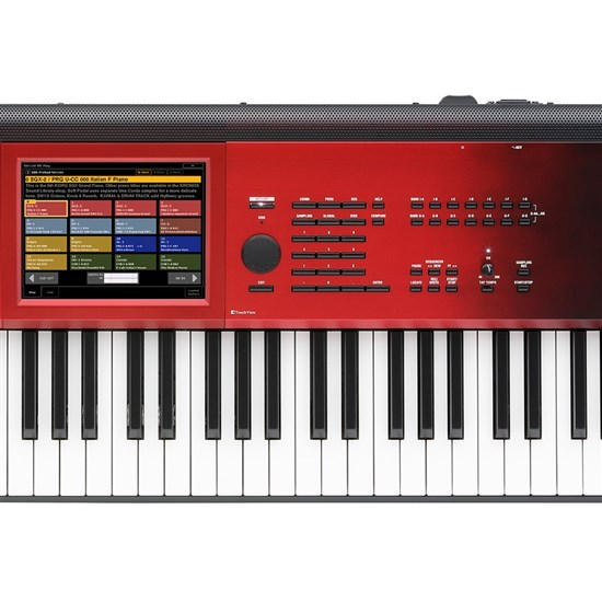 Korg Kronos 73-Key Music Workstation Special Edition (Red Sunburst)