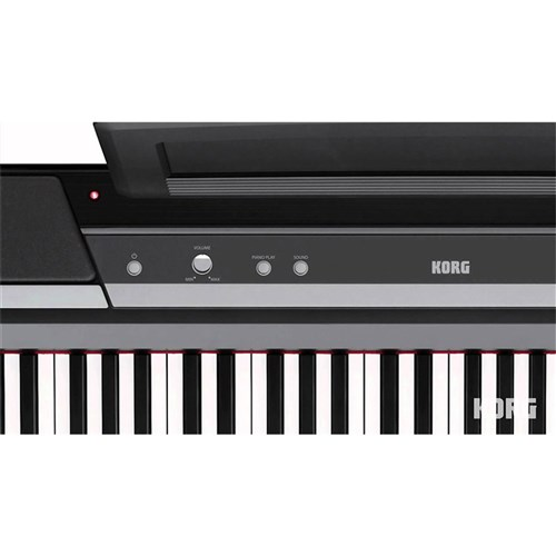 Korg SP-170 DX Digital Piano Inc. Stand w/ 3-Pedals