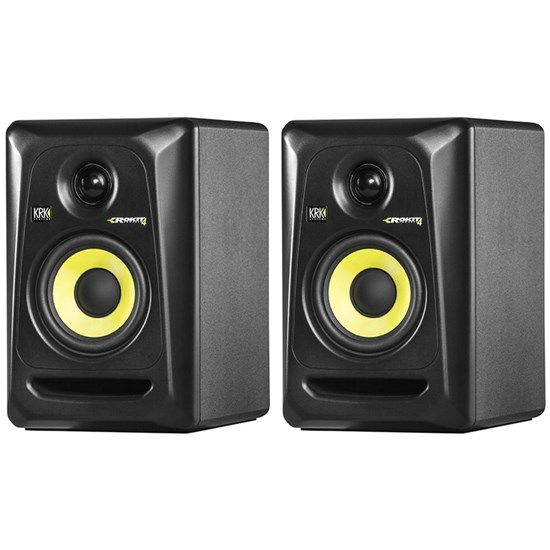 "KRK ROKIT RP4G3 4"" Studio Monitors (Black Pair)"