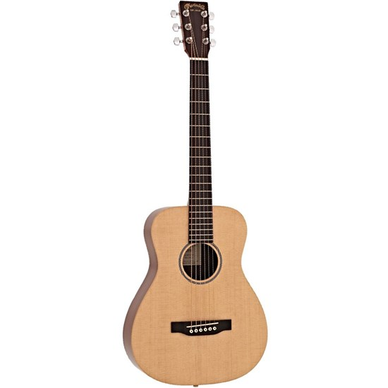 Martin LX1E Little Martin Acoustic Guitar w/ Pickup in Gig Bag