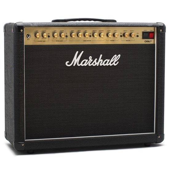 "Marshall DSL40C Dual Super Lead 2-Channel 40w 1x12"" Valve Guitar Combo Amp"