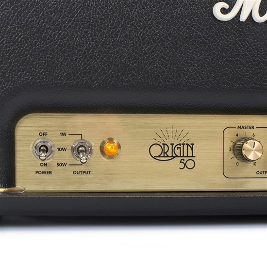 mar ori50h marshall origin 50h 50w valve guitar amp head w powerstem mannys. Black Bedroom Furniture Sets. Home Design Ideas