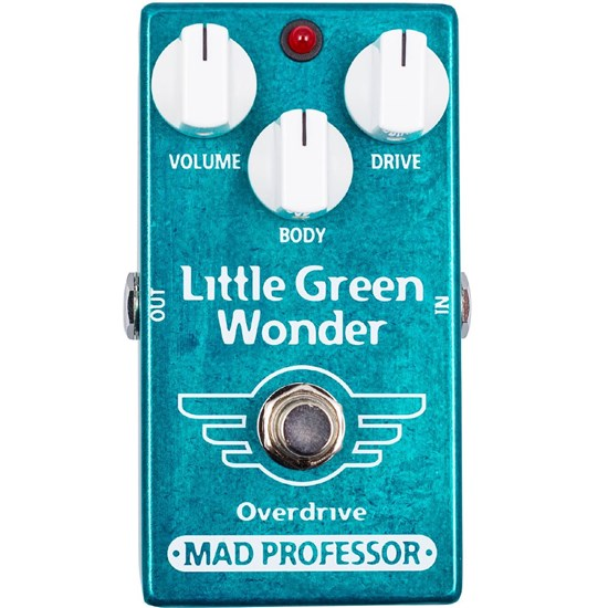Mad Professor Amplification Little Green Wonder Overdrive Low Compression, High Headroom