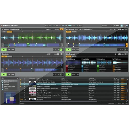 OPEN BOX Native Instruments Traktor Scratch A6