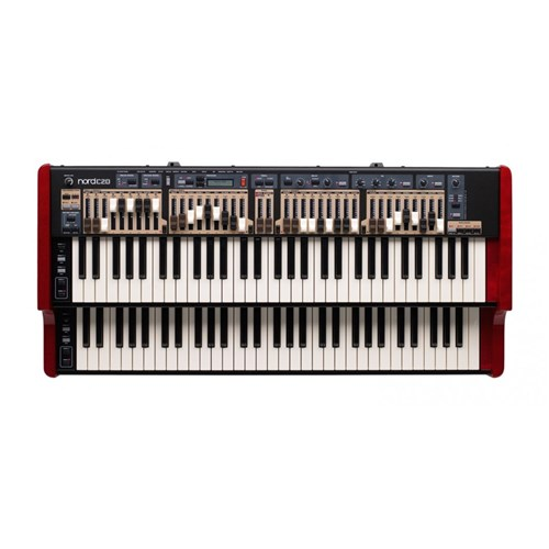 Nord C2D Combo Organ with Dual 61 Key Keyboards and Drawbars